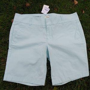 J. Crew NWT Frankie Bermuda Shorts Size 10 Strecth